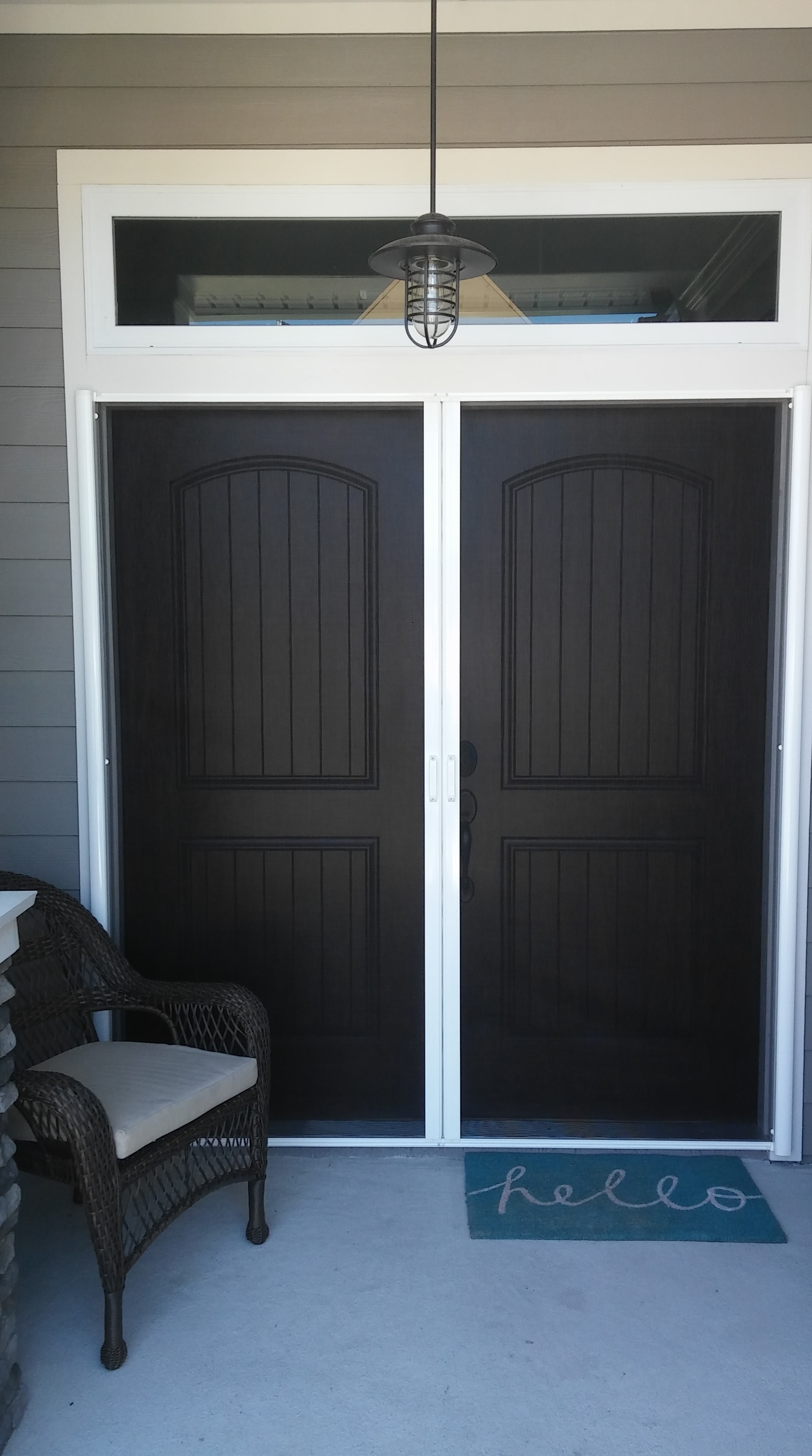 mosquito mafia screen services can provide motorized and manual retractable screens as well as fixed rescreening services for your garage entryways